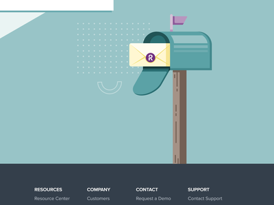 Email Subscription Center checkboxes email form form subscription email marketing mailbox letter evelope confetti