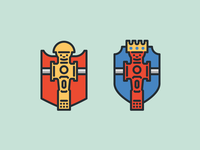 Foosball Tournament Badges