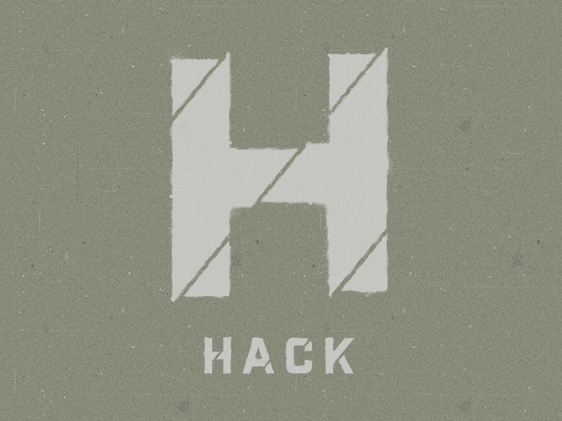 Hack Day Stencil hackathon graffiti stencil