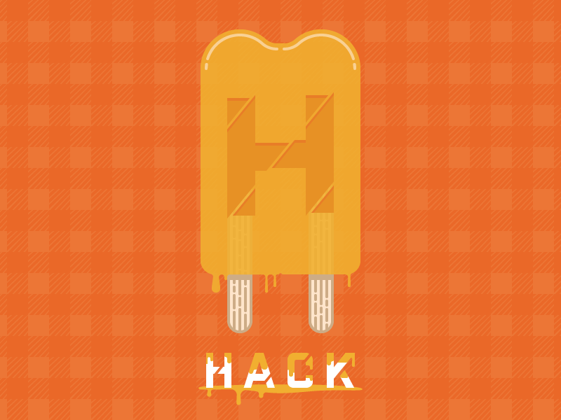 Hacksicle summer dripping hackathon double popsicle popsicle