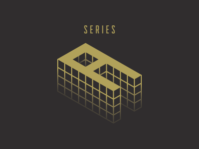 Shippo Series A grid boxes letter a isometric