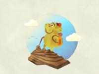 Hikin' Hippo