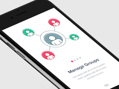 Manage Groups - Walkthrough conference call manage groups group talks tips ios walkthroughs