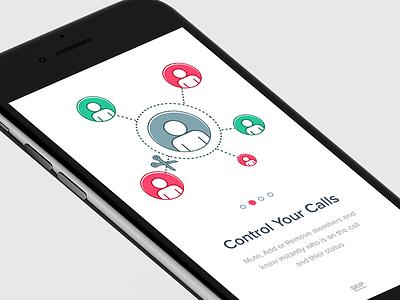 Control Your Calls - Walkthrough calls conference call manage groups group talks tips ios walkthroughs
