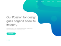 Fission Homepage Design