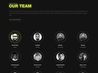 Team Page Design - Fission