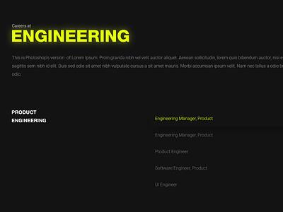 Jobs Page Design - Fission darkuidesign dark ui darkui jobs page design user interface design ux ui portfolio