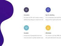 One Page Landers Website Design