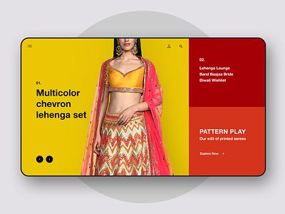 Homepage Display web design website alignments portfolio store ecommerce user interface design ui ux userinterface