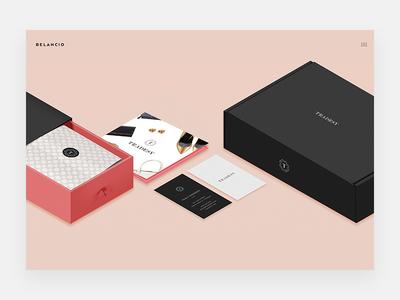 Belancio Clients package design startups simple minimal clean