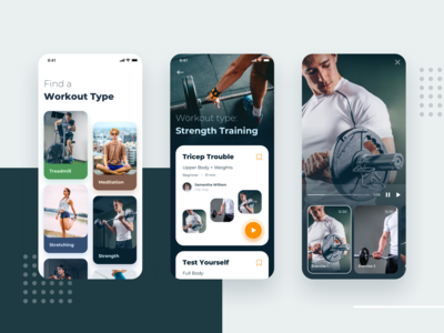 Personal Training App - Exploration