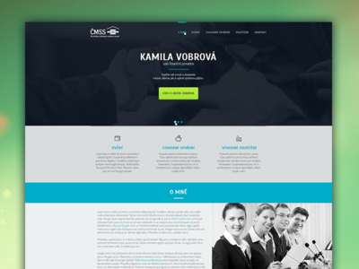 KamilaVobrova.cz - Financial Advisor