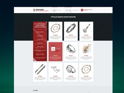 Skalimar Jewelry E-commerce