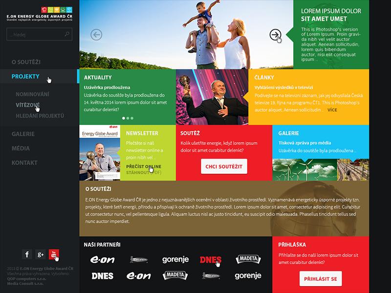 E.ON Energy Globe Award Czech Republic v1 e.on energy globe czech metro left menu dark colors