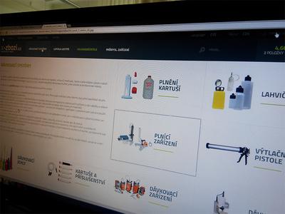 X-Zbozi.cz E-commerce v1 x-zbozi ecommerce eshop green light metro 2014 flat clean