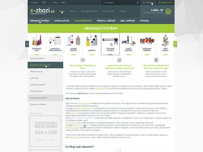 X-Zbozi E-commerce v2