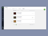Dashboard inspired by Material Design 1/2