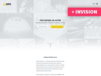 AstraLighting.cz - clean minimalistic website