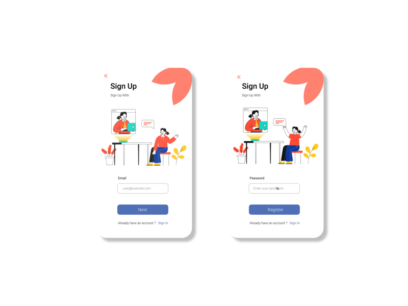Day 3 | Sign Up Apps sign up design sign up app sign up signup uidesignpatterns uidesigner uidesign ui onboarding ui onboarding design challenge design app design app 10ddc