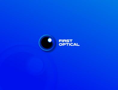 First Optical logodesign logos logotype logo design corporate design typography logo design illustration branding