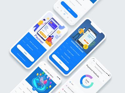 Payment App Showcase mobile design apps design mobile app design mobile app mobile ui corporate design ux ui