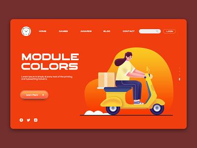 Templates Website colors user interface design webdesign ux ui