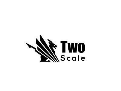 TWO SCALE NEW8 logos logotype typography logo design corporate design logo flat design illustration branding