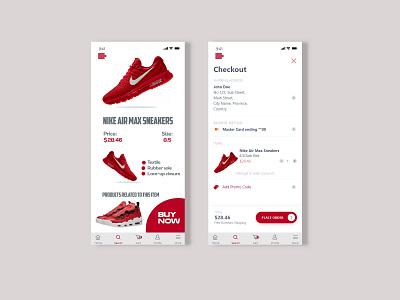 Shoe Selling App ecommerce app ui  ux app corporate design ux ui