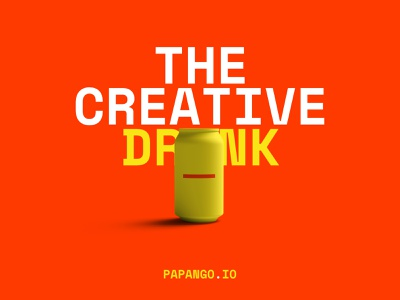 Creative boost pack - papango.io papango energy drink drink story poster design