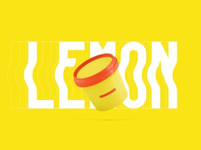 The Ice cream - papango.io packaging challenge papango icecream lemon weekly warm-up