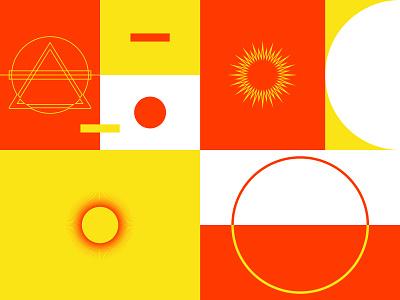 Design system exploration part 2 - papango.io shape elements logo design system alchemy shape circle rectangle triangle geometric design branding papango