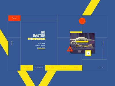 Papango.io website design - 02 the force yoda jedi madagascar creative design website ui papango