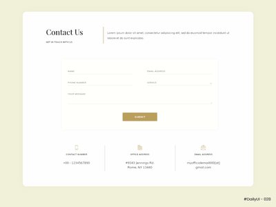 Contact Page - #DailyUI #028 - Design Challenge contact form contact page contact us 028 uidaily028 ui daily 028 dailyui028 daily ui 028 ui challenge ui daily challenge ui daily uidesign daily ui challenge daily ui ui design uidaily ui dailyuichallenge dailyui daily 100 challenge