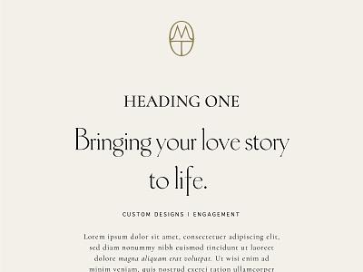 Brand Typography for Melissa Tyson, by Soul Twin Studio print design identity typography branding