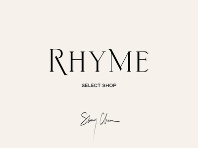 Custom Logotype for RHYME / by Soul Twin Studio