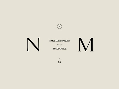 Brand Mark Exploration, Nicole Mason — by Soul Twin Studio vintage portland photographer logo photographer type logo identity typography branding
