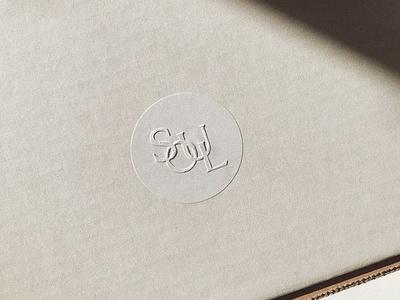 Soul Twin  Monogram — by Soul Twin Studio monogram submark embossing embossed sticker packaging logo type identity branding