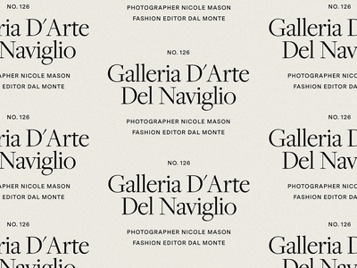Brand Typography for Neek Mason, by Soul Twin Studio