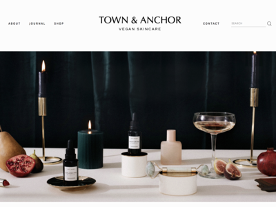 Town & Anchor — Holiday Imagery & Website, by Soul Twin