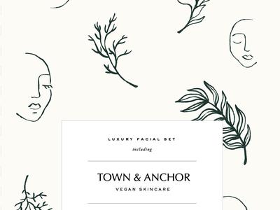 Town & Anchor — Facial Box Set