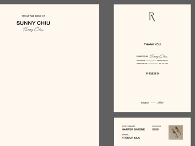 Stationery for Rhyme Select Shop, by Soul Twin Studio