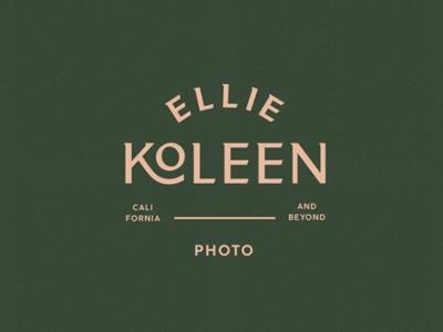 Ellie Kolleen Logo Lockup — by Soul Twin Studio