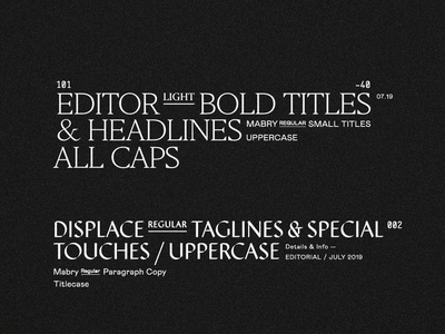 Type Hierarchy — by Soul Twin Studio