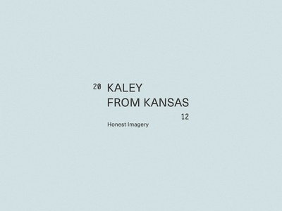 Brand Mark, Kaley From Kansas— by Soul Twin Studio