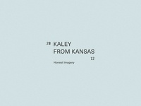 Brand Mark, Kaley From Kansas— by Soul Twin Studio