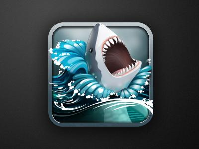Shark ios icon shark