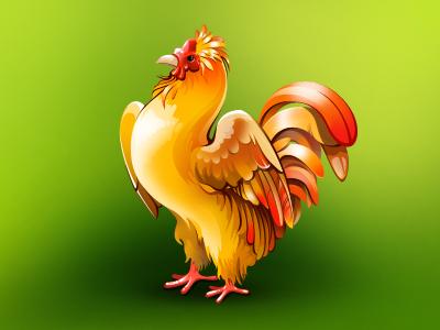 Rooster for Cobingo cock icon bird