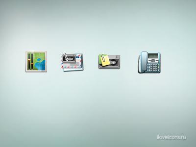 Сommunication icons icons 48x48