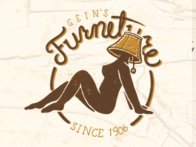 furniture store logo. Finished The Logo For Ed Gein Furniture Store. This One Always Makes Me Laugh Some Reason Haha Store