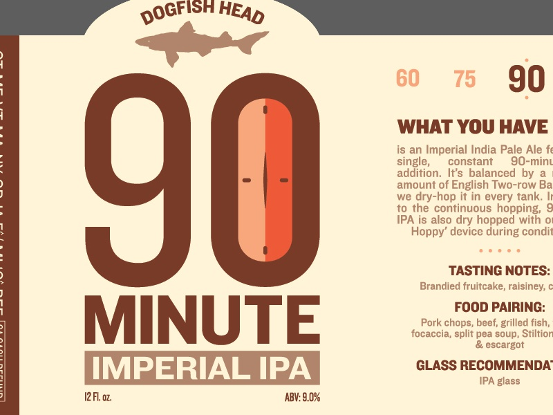 Dogfish Head Label Redesigns II by Andrew Haines on Dribbble